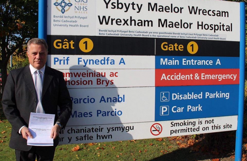 Saved: Maternity services at Wrexham Maelor Hospital