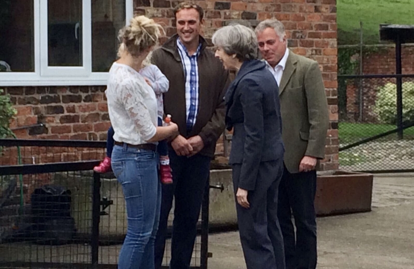 Prime Minister visits Clwyd South