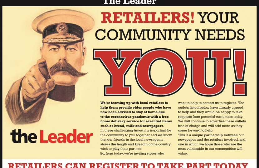 Retailers! Your Community Needs You!